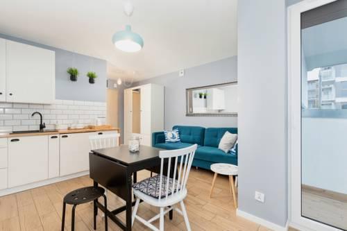 Apartament Blue Dziwnówek Słoneczne Tarasy