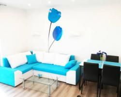 Apartament Blue Flowers Pięć Mórz SPA