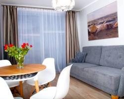 Apartament IKAR przy morzu w kompleksie LAOLA