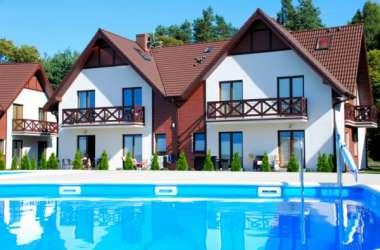 Apartament Lazurowy z basenem Łeba