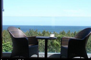 Apartament lux, dwa pokoje z widokiem na morze, hotel Velaves SPA, Władysławowo