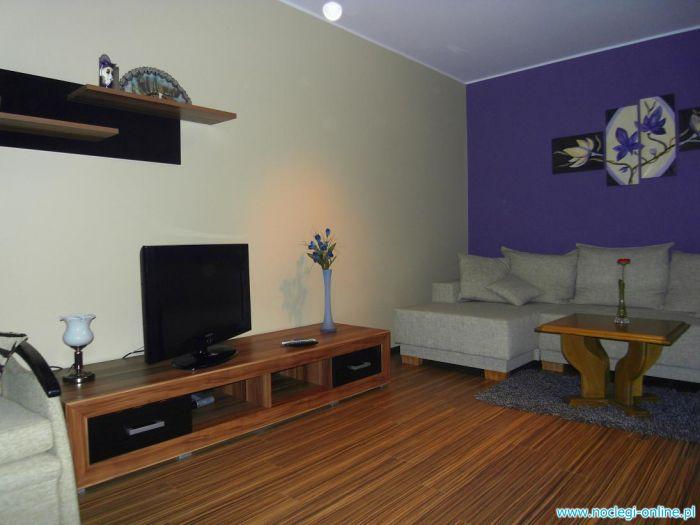 """Apartament """"SILVER""""w centrum Poznania"""