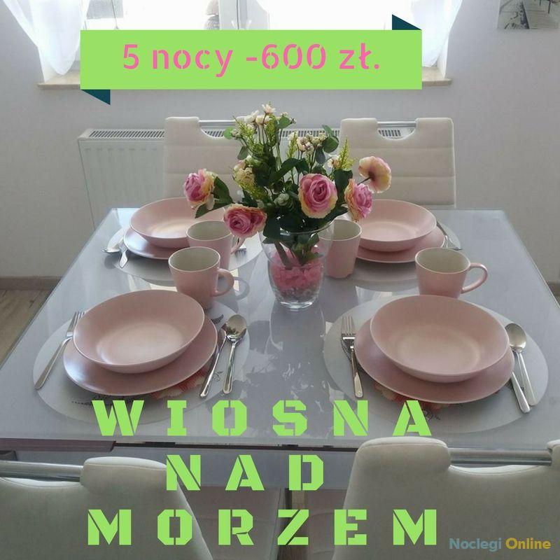 Apartament Różany w Kołobrzegu