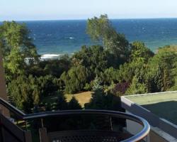 Apartament z widokiem na morze 50 m w Hotelu Arka