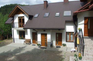 Apartamenty i pokoje z łazienkami w Koninkach w Gorcach