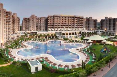 Bułgaria Słoneczny Brzeg, Barcelo 5* plaża 50 m. 4 baseny SPA - apartament 2 pok 5 os.