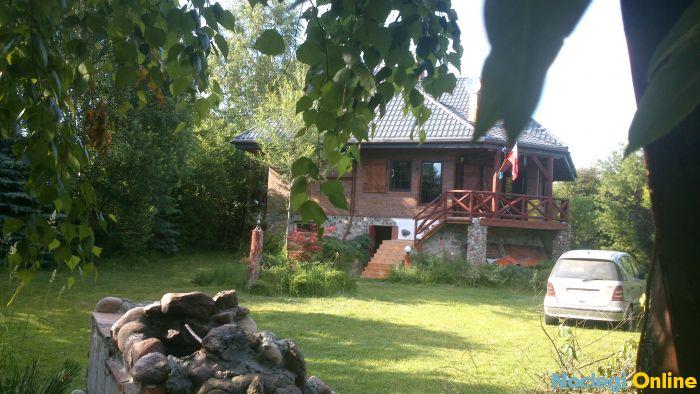 Dom 250m nad jeziorem Orzysz