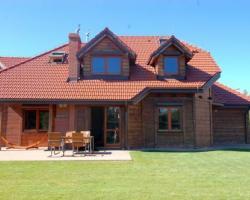 Dom drewniany z bala