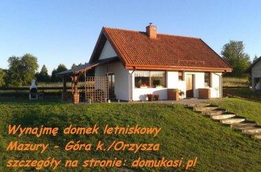 Dom letniskowy- Mazury, Nowe Guty, Góra