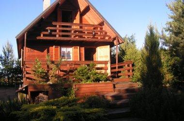 Dom na Mazurach w miejscowości Orzyny koło Szczytna