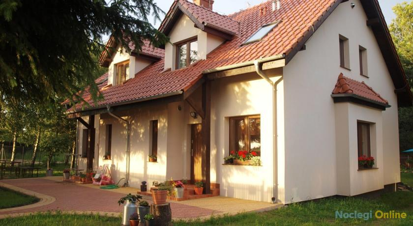 Dom nad jeziorem na Mazurach