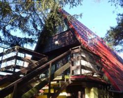 Dom wypoczynkowy W lesie