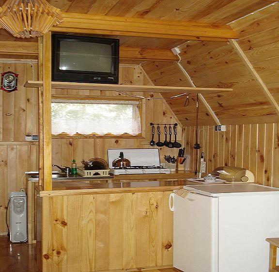 Domek drewniany *Jastrząb*