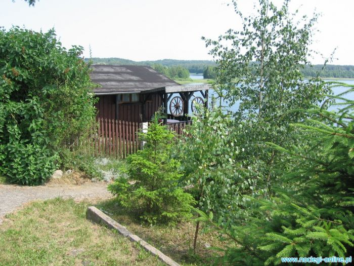 Domek letniskowy nad jeziorem Wielkie Leźno