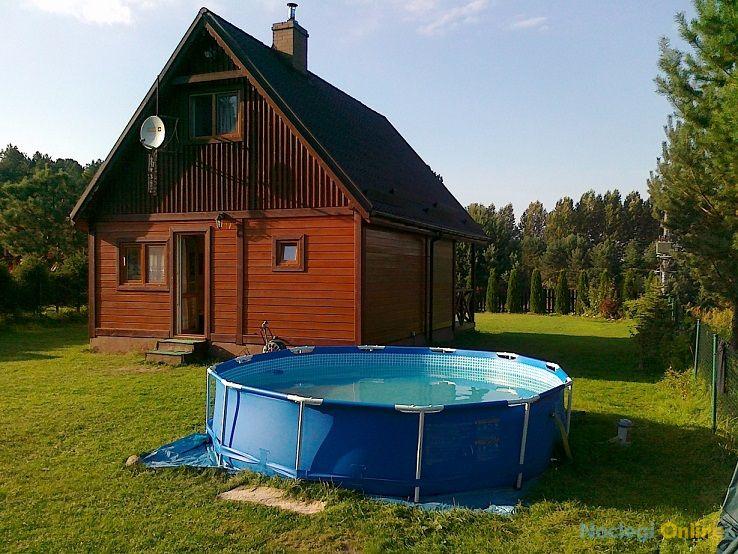 Domki Marzeń nad jeziorem