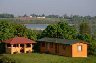 Domek nad jeziorem Gaładuś
