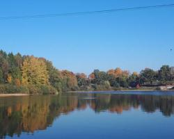 Domek nad jeziorem Kaszuby