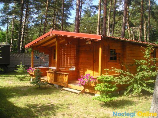 Domki letniskowe drewniane