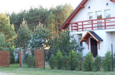 Domki letniskowe nad jeziorem Bory Tucholskie Kociewie Kaszuby