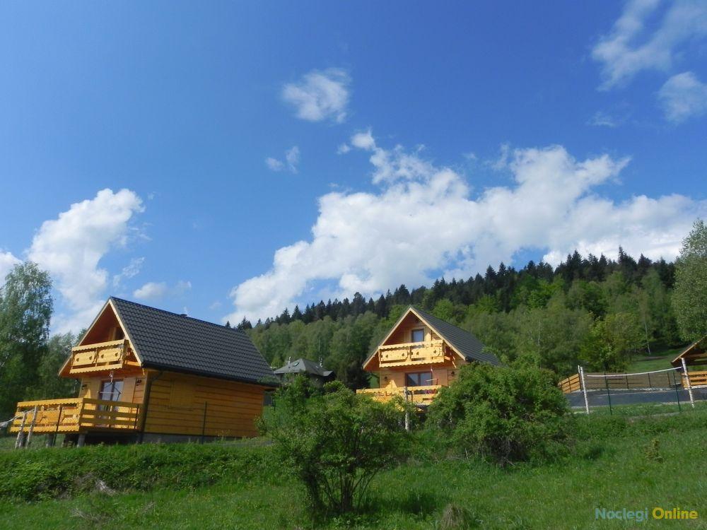Domki pod bieniatka koło Szczyrku