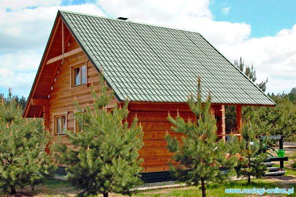 Domy w Lesie - Królewskie Agrowczasy