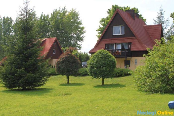 Dwa domki na mazurach