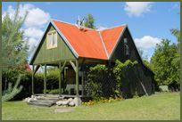 Kaszuby domek drewniany