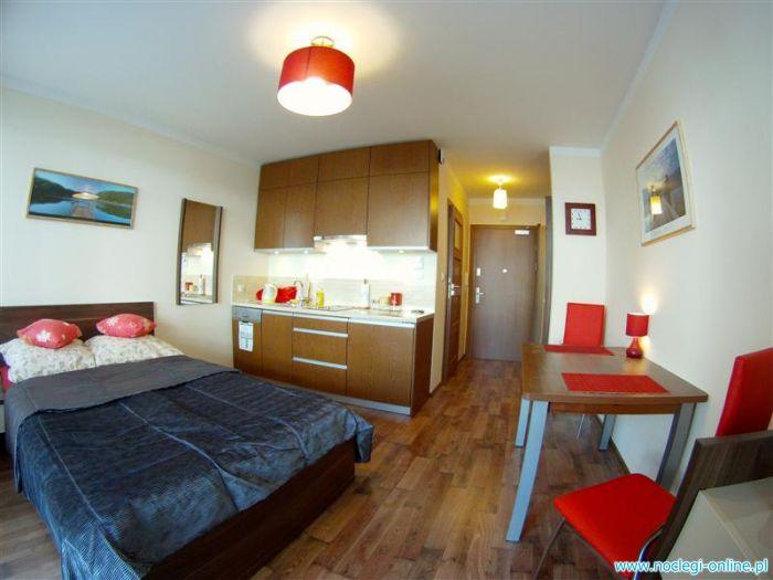 Apartament TRZY POMOSTY - 100m od wejścia na plażę!