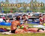 Pokoje 19 zł, Domki, 700m do plaży