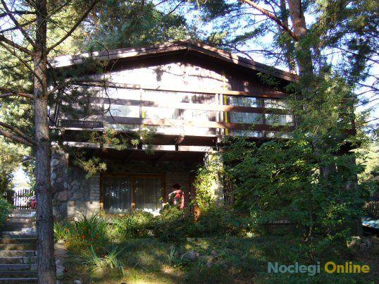 Domek drewniano-murowany