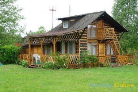 Domek drewniany