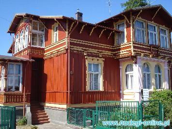 """Dom Wczasowy """"Willa Wisełka"""""""