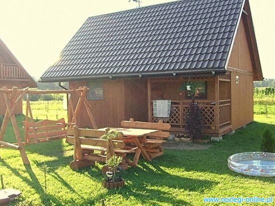 Domki Rodzinne w Gorach- Bieszczadach nad Sanem