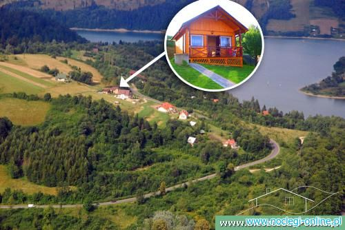 """Panorama"" nad Jeziorem Solińskim"