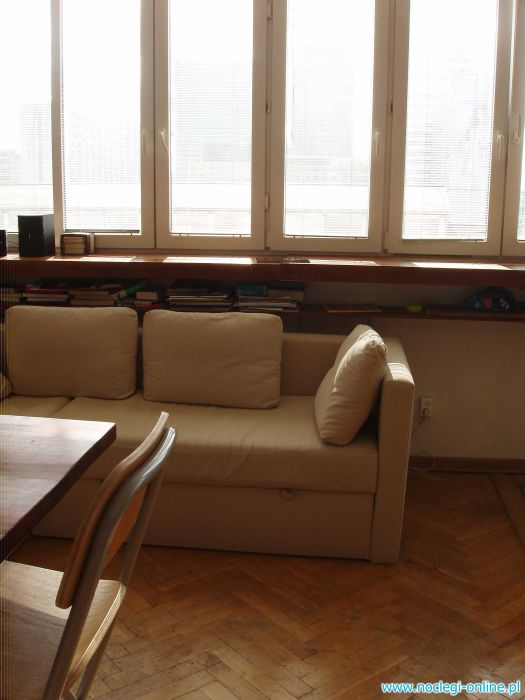 STUDIO FOR RENT (WARSAW - EURO 2012)