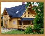 Dwa domy drewniane letniskowe całoroczne 100m.jezioro-Sylwester świeta ferie