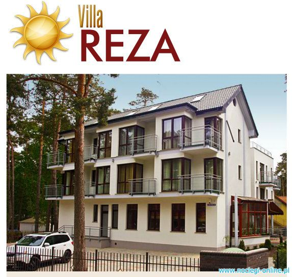 Villa Reza Pobierowo strefa SPA
