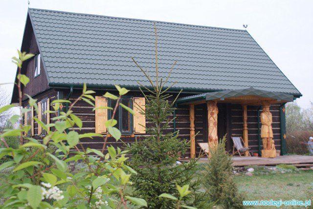 Dom całoroczny z bala, chata Kurpiasy 120 km. od Warszawy