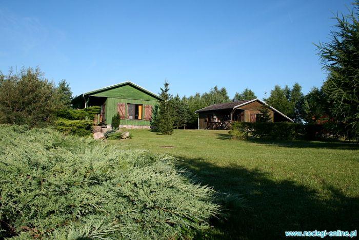 Domki drewniane Żurawia Łąka