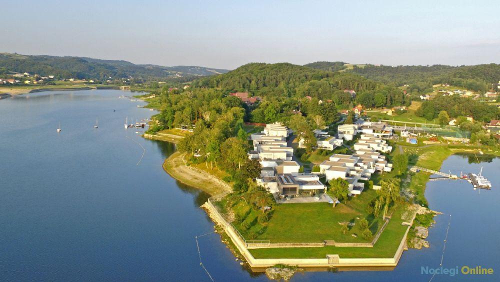 Domek/Apartament Słoneczny*19 w Lemon Resort SPA, nad samym Jeziorem Rożnowskim.