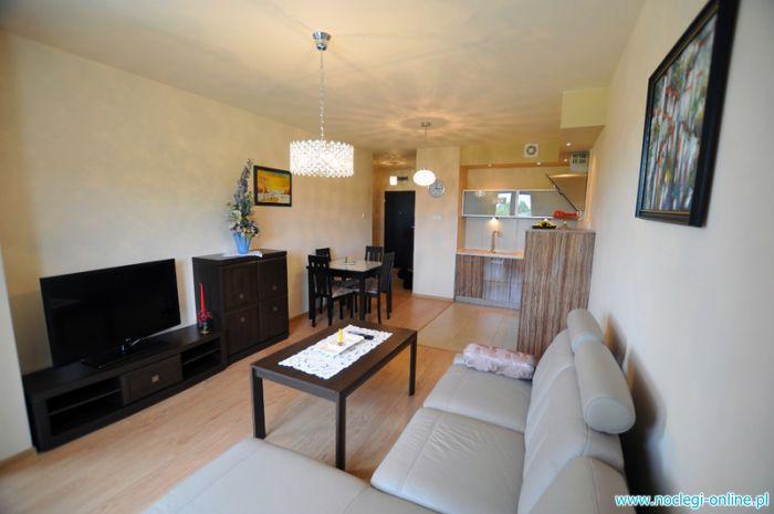 Apartament 2-pokojowy, 350 metrów od plaży