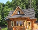 Domek w górach z bali