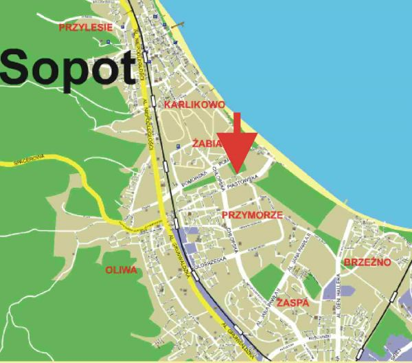 Mieszkanie w nad morzem!!! Plaża SOPOT 5 minut!!!