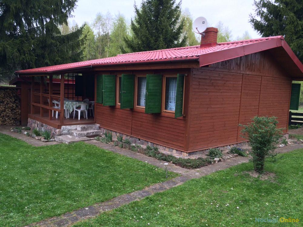 Domek Mazury nad jeziorem KALWA