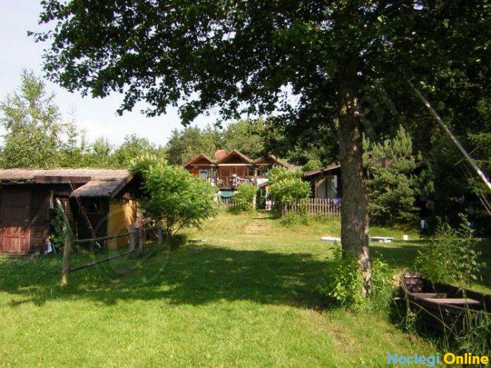 Domki Krakowiak nad jeziorem Plusznym