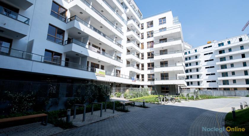 Warsaw Apartments Black & White