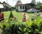 2 całoroczne domki w pięknym dużym ogrodzie.