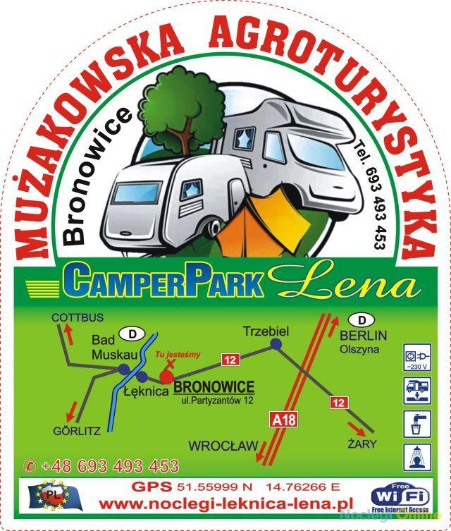 POLE namiotowe CamperPark LENA
