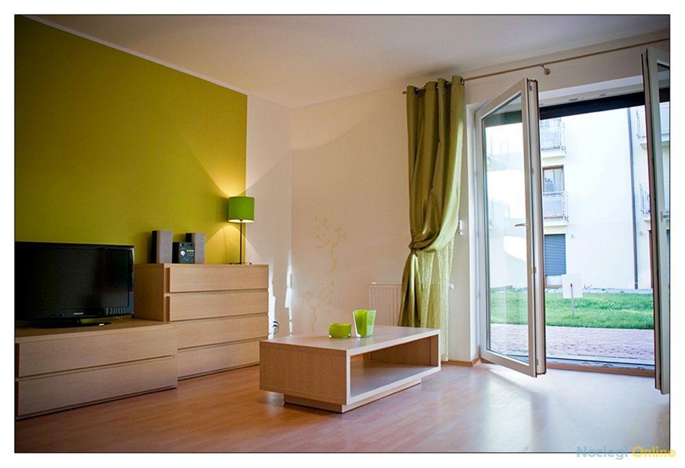 Apartament z sypialnią i tarasem