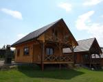 Domki w Bieszczadach nad jeziorem Solińskim